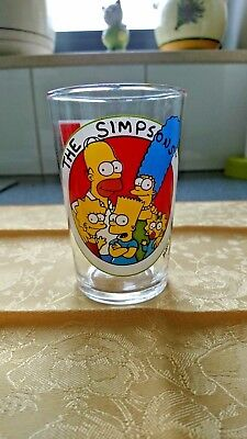 Verre moutarde The Simpsons N° 54 AMORA 1997,Twentieth Century Fox TM 1997-Glass