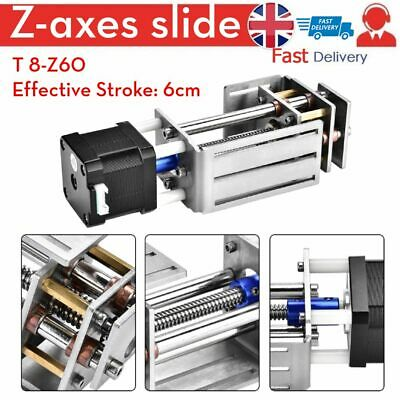 Z-Axes Slide 60mm DIY Milling Linear Motion Guide Rail for CNC Engraving Machine