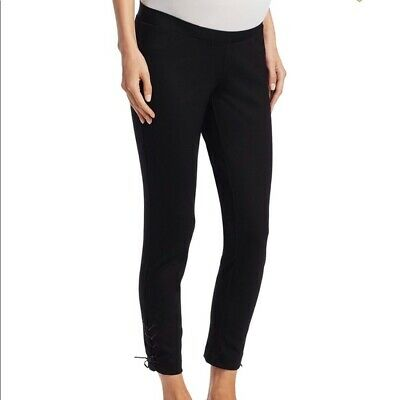 Hatch Maternity Women's THE STABLE LEGGING Black Size 1 (SM/4-6) NEW