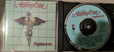 Motley Crue Dr. Feelgood CD First US Press Elektra Asylum Records VG+++
