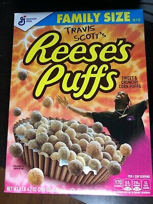 travis scott reese's puffs family size collaboration reeses
