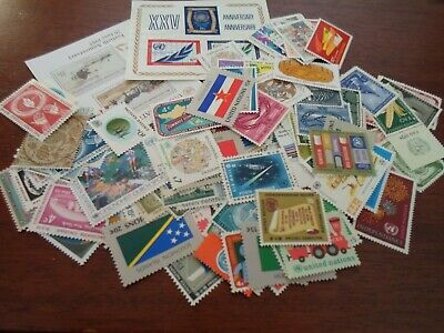 Collection lot 150+ different MNH stamps of United Nations