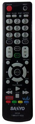 Replacement for SANYO GXBG TV Remote Control-DP42647 DP42849 DP46849 DP50747