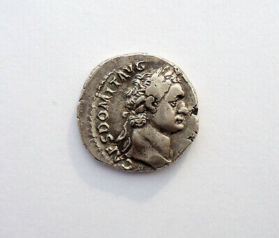 ancient authentic Roman silver coin denarius  #56