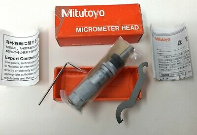 Mitutoyo® 148-504 Small MICROMETER HEAD 0-13mm with ZERO-ADJUSTABLE Thimble -NEW