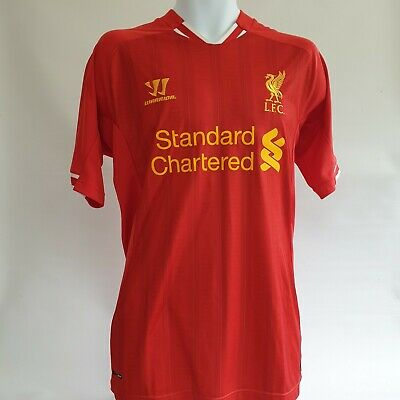 Liverpool FC Warrior red home football shirt 2013-2014 size men's XL LFC