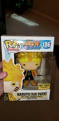 Funko POP! Animation Naruto Shippuden Six Path Hot Topic Exclusive GITD Glow NEW