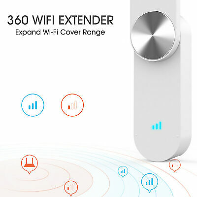 360 WiFi Extender R1Wireless Network Wifi Amplifier Repeater Signal Booster I4O6