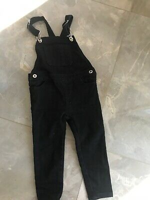 LTL PPL Ovaralls Black Size 2 As New Unisex