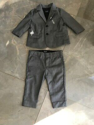 Bardot Junior  Boys Suit As New Size 00 Only Worn Once