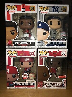 Funko Pop Michael Jordan Target Exclusive Sports Legends Lot