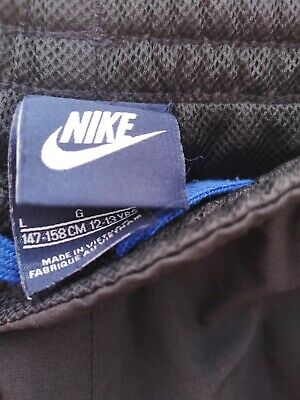 Nike Children's Tracksuit Bottoms Age 12-13