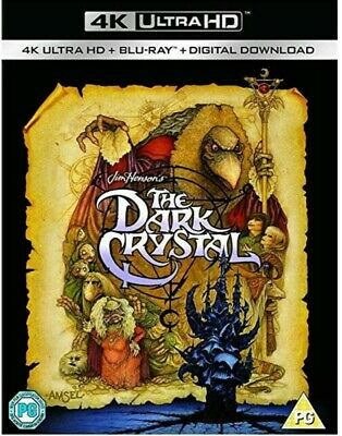The Dark Crystal (1982) - 4K Ultra Hd Blu Ray - New And Factory Sealed