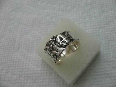 Reed & Barton Pat 1894 Sterling Silver spoon RING s 7 1/4 CAT Jewelry # 6641