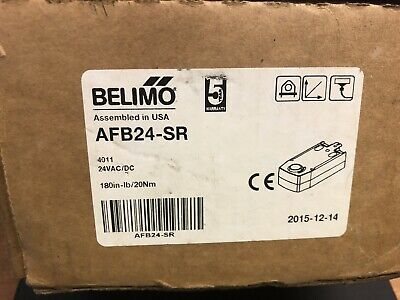 Belimo AFB24-SR Spring Return Fail-Safe Proportional Damper Actuator