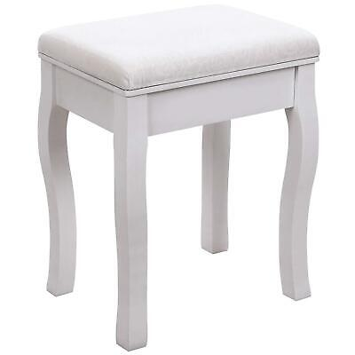 Padded Stool Makeup Vanity Bench Chair