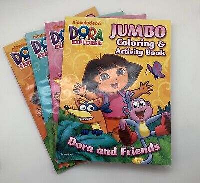 4 PACK OF Dora The Explorer: Coloring And Activity Pad, Book, New  Nickelodeon - $8.00 PicClick