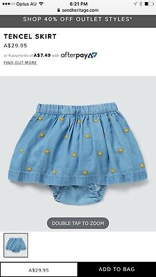 Seed Heritage Baby Skirt