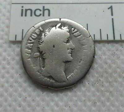 Authentic Ancient ROMAN SILVER COIN denarius imp. Antoninus Pius 138-161AD #454