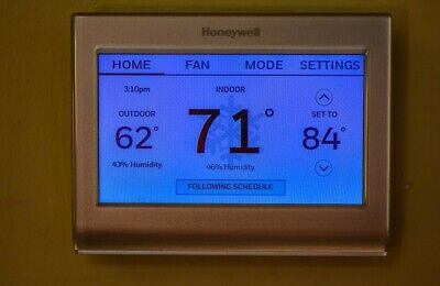 Honeywell RTH9585WF WiFi Smart Color Thermostat EXCELLENT CONDITION