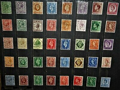 World Wide Stamps / Great Britain All Diff [6 Scans] for your Collection !!!!