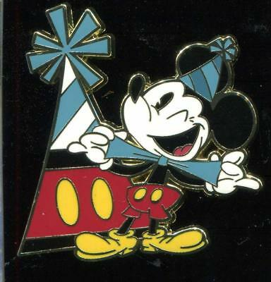 Mickey Mouse 90th Birthday Celebration Booster Mickey Mouse Disney Pin