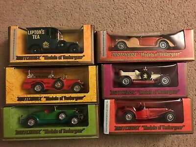 Matchbox Models of Yesteryear Collection 1st Edition
