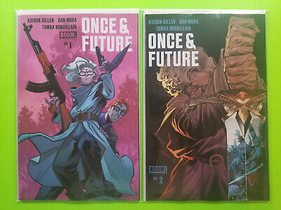 ONCE AND FUTURE #1 5th Print #2 FIRST PRINT 2 BOOK SET BOOM! STUDIOS 2019