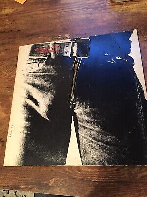Rolling Stones - Sticky Fingers - 1971 US 1st Press with Zipper Cover COC 59100
