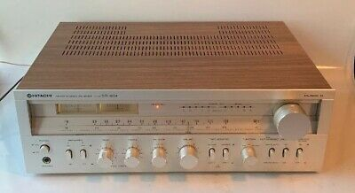 Vintage Hitachi SR-604 AM/FM Stereo Receiver Tested Excellent Working Condition