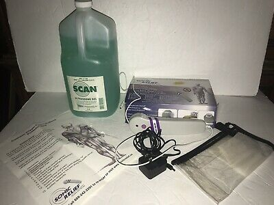 Sonic Relief Portable Pain Therapy Ultrasound Device SR-957 With 1 Gallon Gel