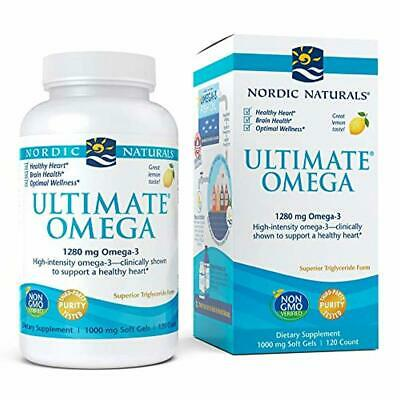 Nordic Naturals, Ultimate Omega, Fish Oil Supplement with Omega-3 DHA and EPA, S