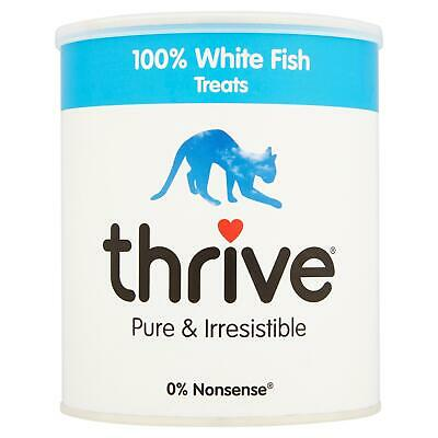 Thrive Chat 100% Blanc Poisson Friandise Maxitube 200g - Real Naturel Lyophilisé