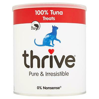 Thrive Chat 100% Thon Friandise Snack Maxitube 200g - Real Naturel Gel Séché