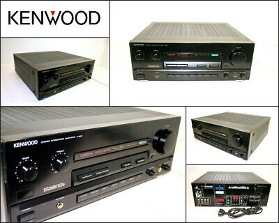 KENWOOD A-848 Stereo Integrated Amplifier Made in Japan