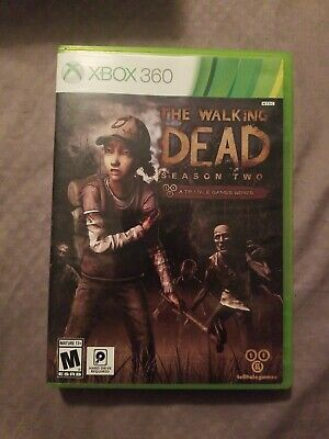 Xbox 360 The Walking Dead Season Two Video Game Interactive