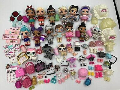Huge LOL Surprise Doll Lot— Clothes, Pets, Accessories