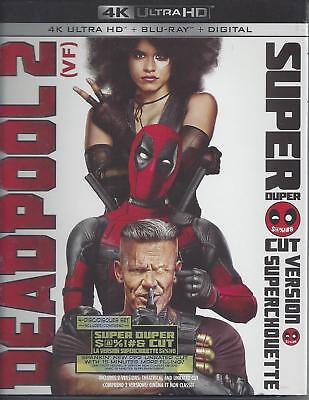 Deadpool 2 Super Duper Cut Version (4K Ultra Hd/Bluray)(4 Disc Set)(Used)