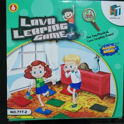 The Floor is Lava! (Ages 5+) Fun Interactive Board Game for Kids and Adults