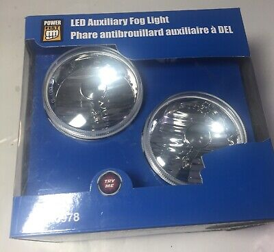 LED Auxiliary Fog Lights Opened Box But NEW