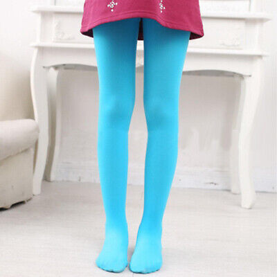 Lovely Kid Children Girl Soft Candy Color Pantyhose Ballet Dance Sockings Tights