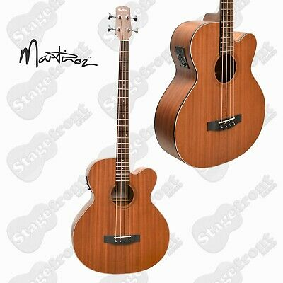 Martinez Mnbc-15-Mop Acoustic /Electric Mahogany Bass Guitar *Brand New*