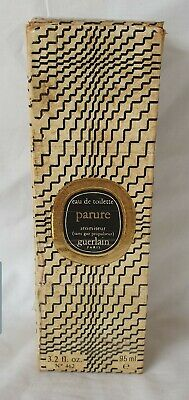 Vintage Guerlain PARURE EDT 95ml Big bottle Full Set Collectors item, Year 1982