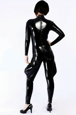 New 100%Latex Rubber Gummi Men Catsuit Handsame Badysuit Fashion 0.4mm XXS-XXL