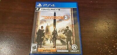Tom Clancy's The Division 2  (Sony PlayStation 4, 2019) PS4