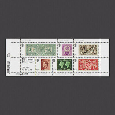 Limited Edition 2019 'Stamp Classics' Miniature Sheet with Stampex Overprint