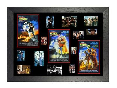 Back To The Future Tribute I II III Movies Cast Picture Classic Film Poster