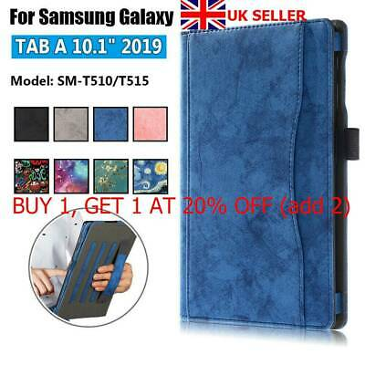 Tablet Case Cover Flip Stand Shell For Samsung Galaxy Tab A 10.1 2019 T510 T515