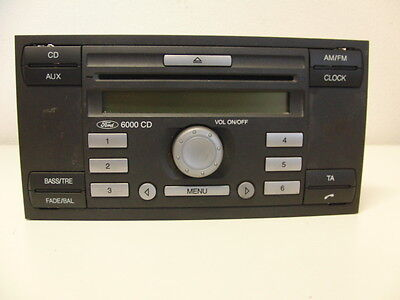 Ford Fiesta 6000 car Radio Original Radio CD