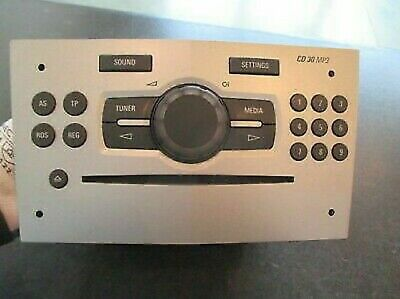 Opel Corsa car Radio Original 497316088